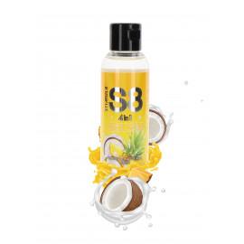 Stimul8 4in1 Dessert Kissable Warming Massage Lubricant Tropical Pina Colada Slush 125ml