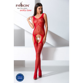 Passion Bodystocking BS061 Red