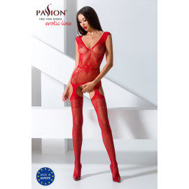 Passion Bodystocking BS062 Red