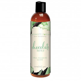 Intimate Earth Natural Flavors Glide Chocolate Mint 120ml