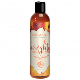 Intimate Earth Natural Flavors Glide Naughty Nectarines 120ml
