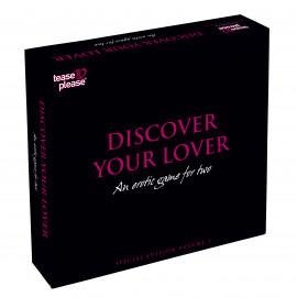 Tease & Please Discover Your Lover Special Edition - Erotická hra Anglická verze