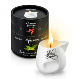 Plaisirs Secrets Massage Candle Ylang Patchouli 80ml