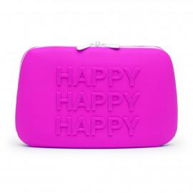 Happy Rabbit HAPPY Storage Zip Bag Large Pink