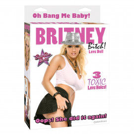 Pipedream Britney Bitch! Love Doll