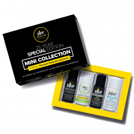 Pjur 25 Year Special Edition Mini Collection 4 x 10ml