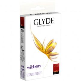 Glyde Wildberry - Premium Vegan Condoms 10 pack