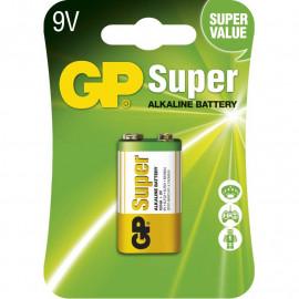 Batéria alkalická GP Ultra 9V 1ks
