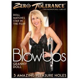 Zero Tolerance BlowUps Granny Doll