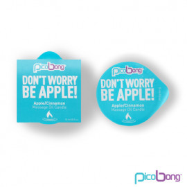 PicoBong Jablko & škorica masážna sviečka 15 ml