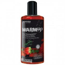 Joydivision WARMup Jahoda Masážny olej 150ml