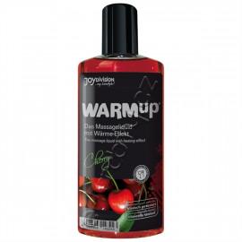 Joydivision WARMup Třešeň Masážny olej 150ml
