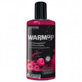 Joydivision WARMup Malina Masážny olej 150ml