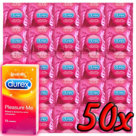 Durex Pleasure Me 50ks