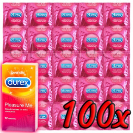 Durex Pleasure Me 100ks