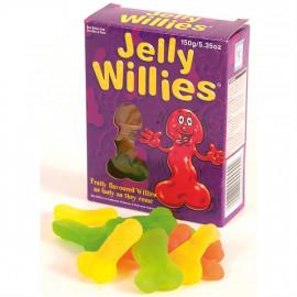 Jelly Willies - Želatínové cukríky v tvare penisu 150g