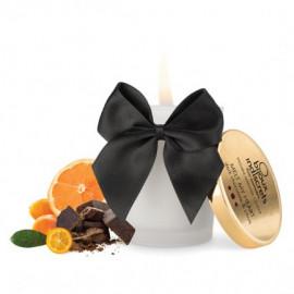 Bijoux Cosmetiques Dark Chocolate Massage Candle - Masážna sviečka s vôňou a chuťou čokolády 70ml