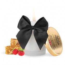 Bijoux Cosmetiques Wild Strawberry Massage Candle - Masážna sviečka s vôňou a chuťou divokej jahody 70ml