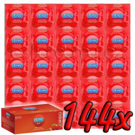 Durex Strawberry 144ks