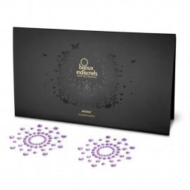 Bijoux Indiscrets Mimi Purple - Ozdoby na bradavky