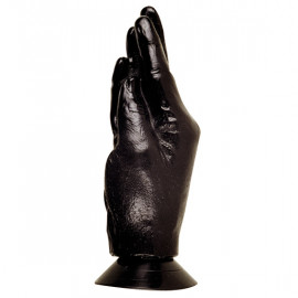 X-MAN All Black AB13 Hand - Fistingové ruka 21cm