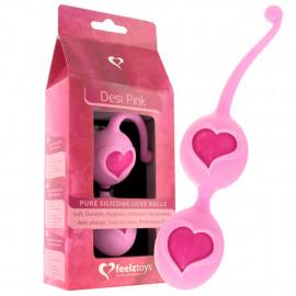 Feelz Toys Desi Love Balls - Venušine guľôčky Ružová