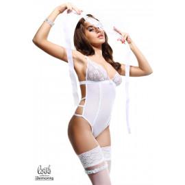 Demoniq Simone Erotické body Biela
