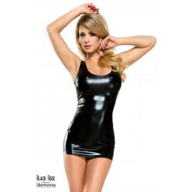 Demoniq Veronique 1 Dámske erotické šaty Čierna