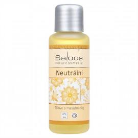 Saloos Neutrální - Bio telový a masážny olej 50ml