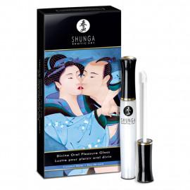 Shunga Divine Oral Pleasure Gloss Coconut - Lesk na pery 10ml