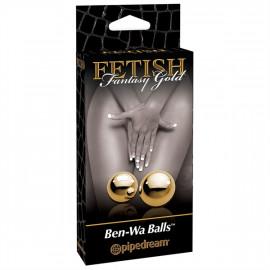 Fetish Fantasy Gold Ben-Wa Balls