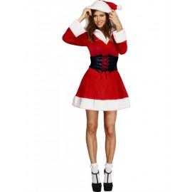 Fever Hooded Santa Costume 36988