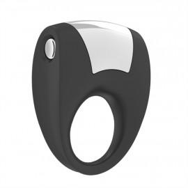 OVO B8 Vibrating Ring - Vibračný krúžok Čierna