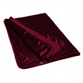 Liberator Fascinator Throw Velvish Merlot - Luxusný prehoz cez posteľ Červená