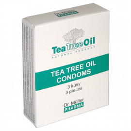 Dr. Müller Kondomy s Tea Tree Olejom 3ks