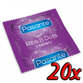 Pasante Ribs & Dots 20ks