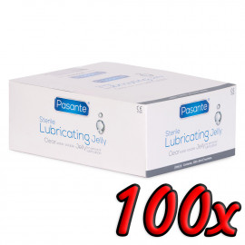 Pasante Sterile Lube Sachets 5ml 100 pack