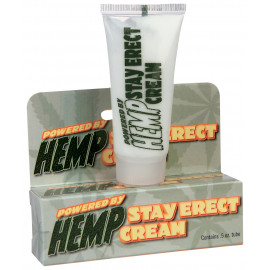 Pipedream Hemp Stay Erect Cream 15ml