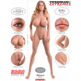 Pipedream Ultimate Fantasy Dolls Bianca Flesh