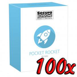 Secura Pocket Rocket 49mm 100 pack