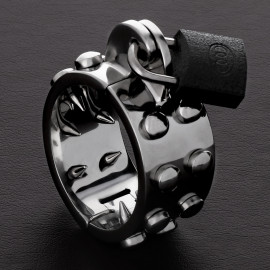 Triune Kalis Teeth Spiked Chastity Device Large
