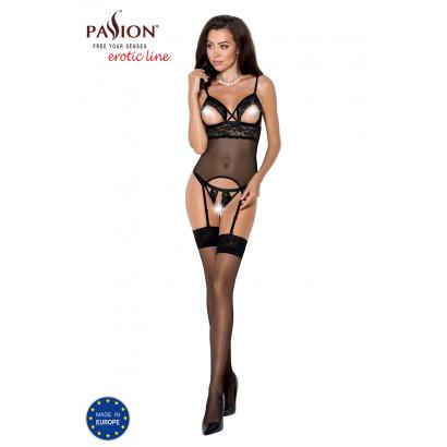 Passion Diabolina Corset Black