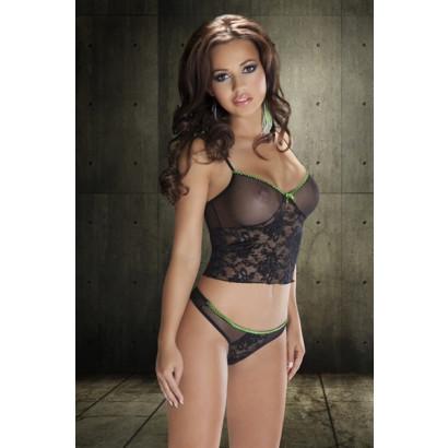 Avanua Safire Set - Erotická súprava Čierna