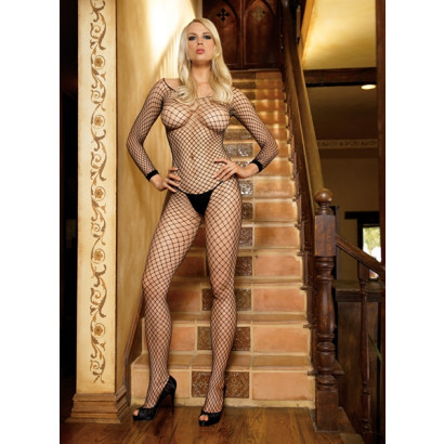 Leg Avenue Long Sleeves Bodystocking 8380