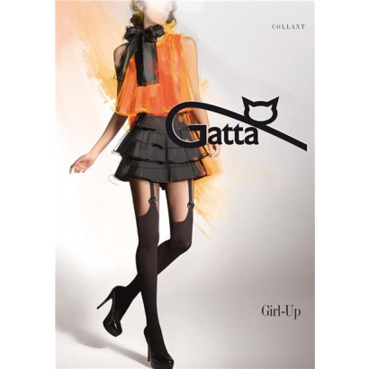 Gatta Girl-Up 18 - Pančuchové nohavice Nero