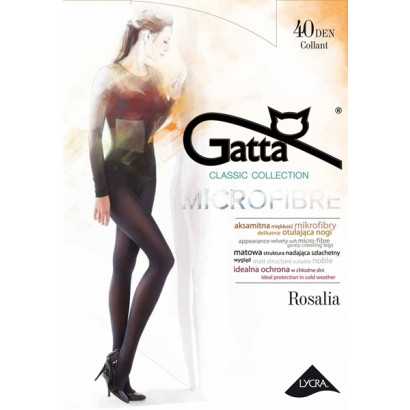 Gatta Rosalia 40 - Pančuchové nohavice Nero