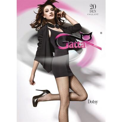 Gatta Dotsy 01 - Pančuchové nohavice Nero