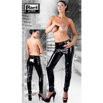 Black Level Vinyl Trousers 2850770