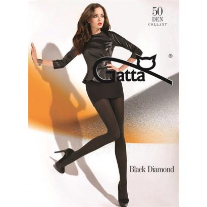 Gatta Black Diamond - Pančuchové nohavice Nero-Silver