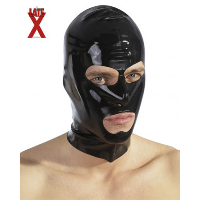 LateX Latex Mask - Latexová maska na tvár Čierna